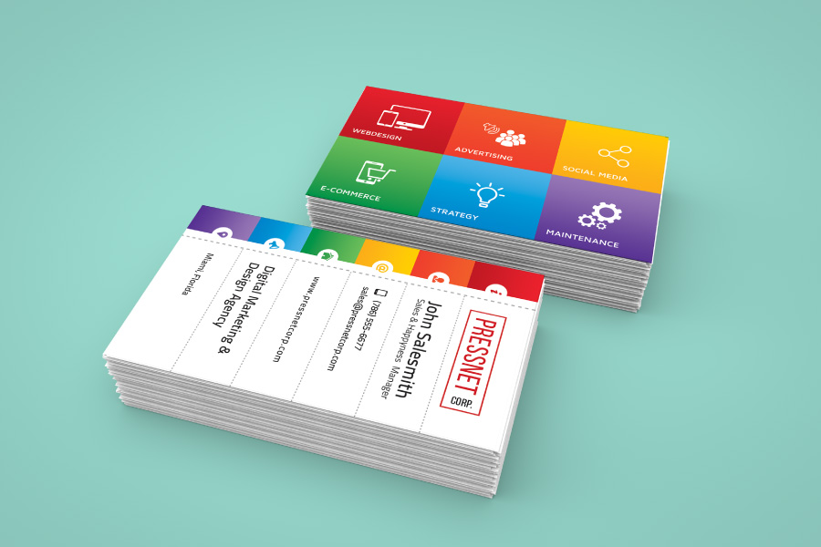 Pressnet Corp Business Card